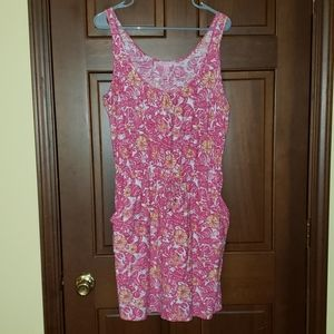 Lilly Pulitzer tank top romper dress